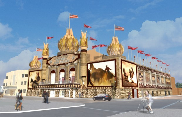 Mitchell City Council views new Corn Palace designs