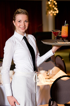 A new study says that Waitresses get 30% more in tips if they do this right away. What is it?