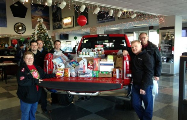"Iverson's of Mitchell ""Stuff the Truck"" Food Drive"